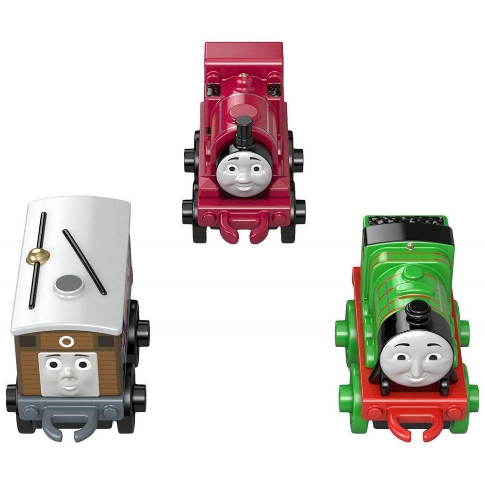 Thomas Friends Minis Toy Train 3 Pack Graffiti Toby Henry Skarloey Dgw06