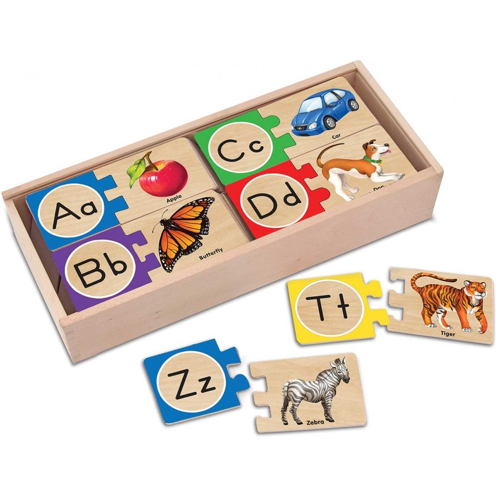 Melissa Doug Melissa Doug Wooden Alphabet Puzzle Age 4