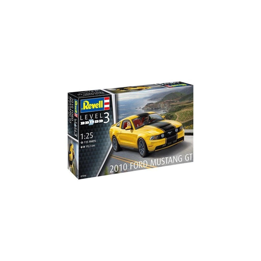 Revell 2010 ford mustang gt 07046 125