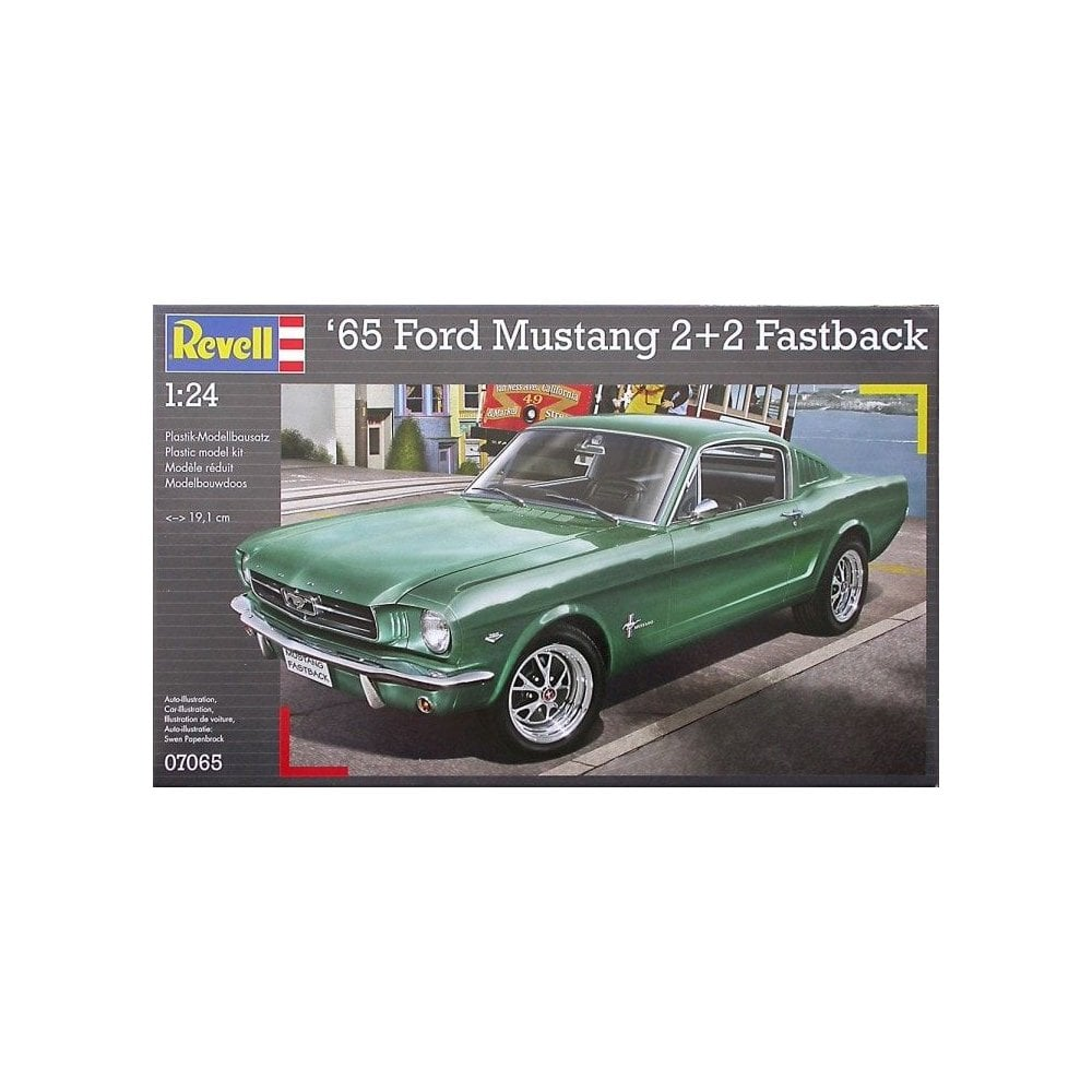 Revell 65 ford mustang 2 2 fastback 07065