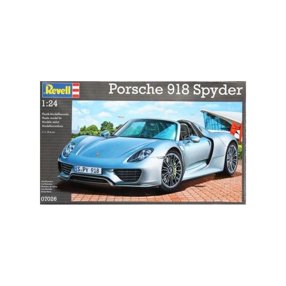 Revell E Porsche 918 Spyder Model Kit 1 24 07026 Model Kits From